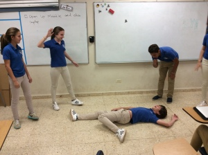 Frozen Moments, acting out the Plague